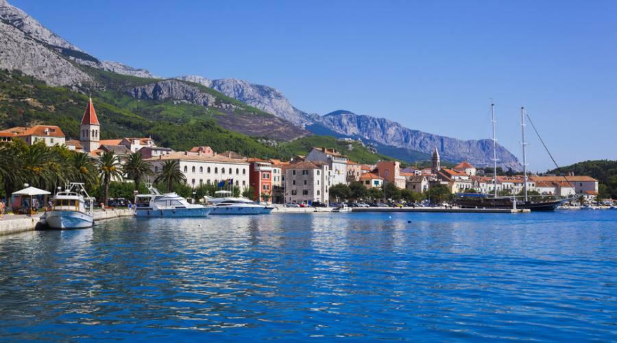 Riviera di Makarska - panoramica