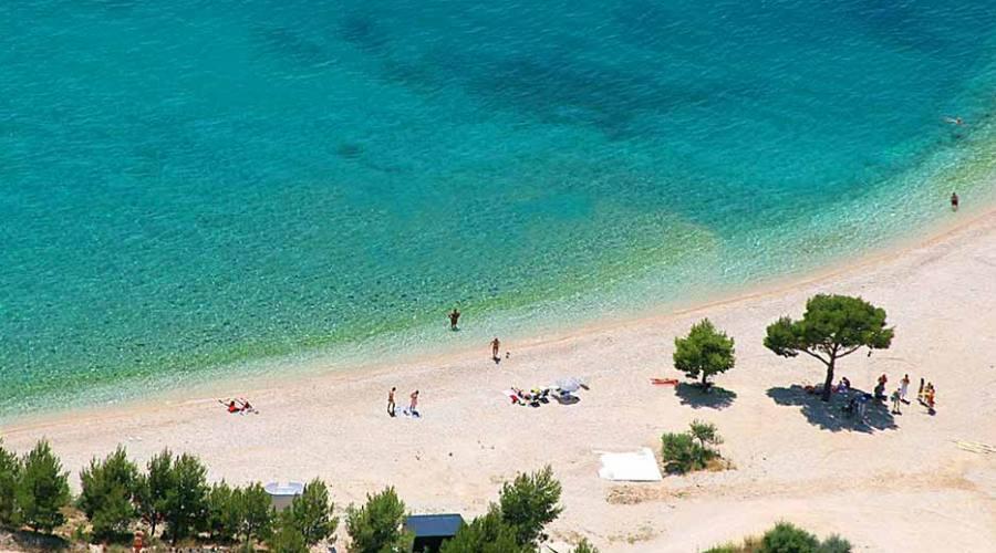 Riviera di Makarska - una delle spiaggie