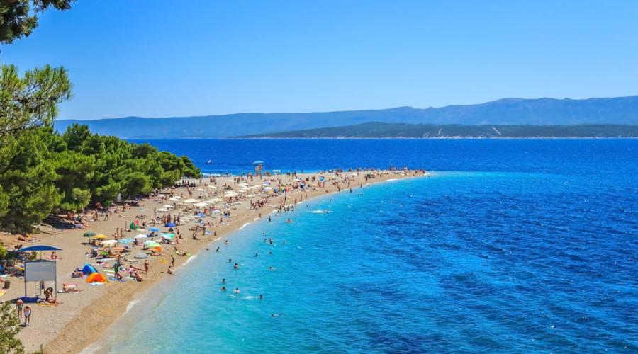 Bol - Zlatni Rat beach
