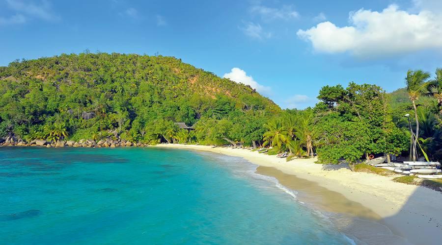 Praslin - Constance Lemuria 5 stelle - Spiaggia