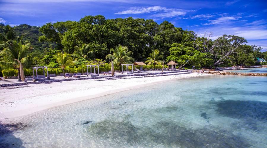 La Digue - la spiaggia di Le Domaine de L'Orangeraie 5 stelle