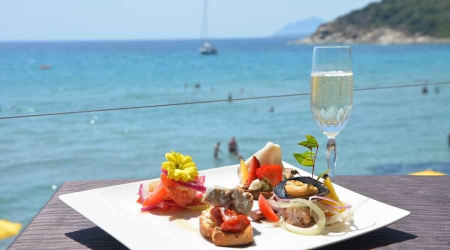 Snack bar con terrazza panoramica
