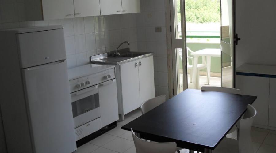 cucina dell'apartamento