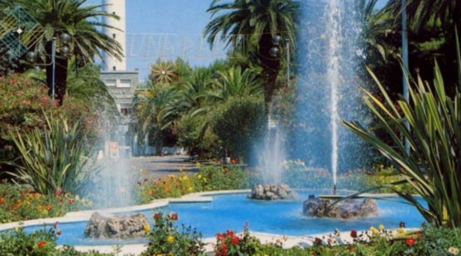 Una fontana