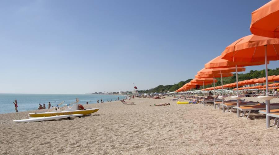 Spiaggia di Marcelli di Numana
