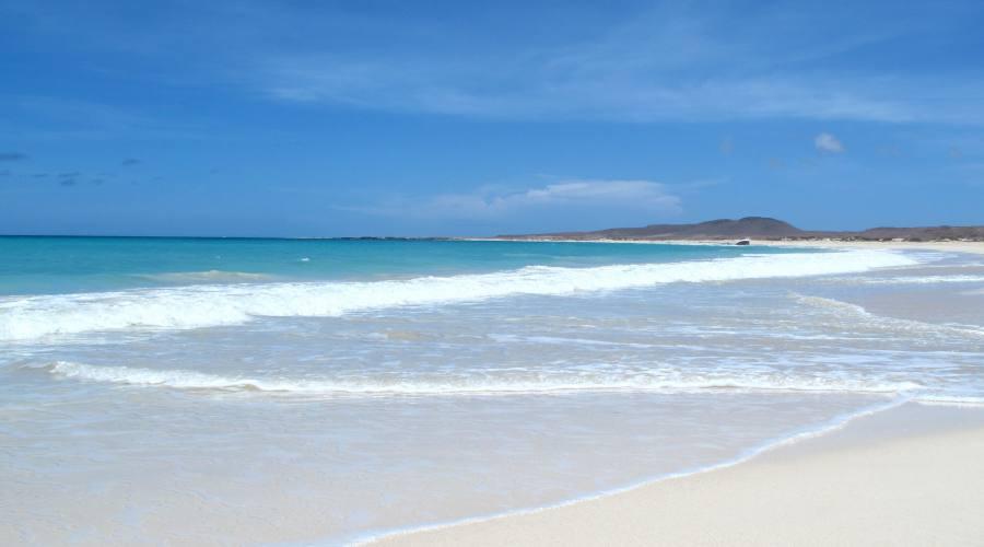 La spiaggia di Boa Esperança