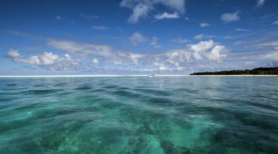 L'isola vista dal mare