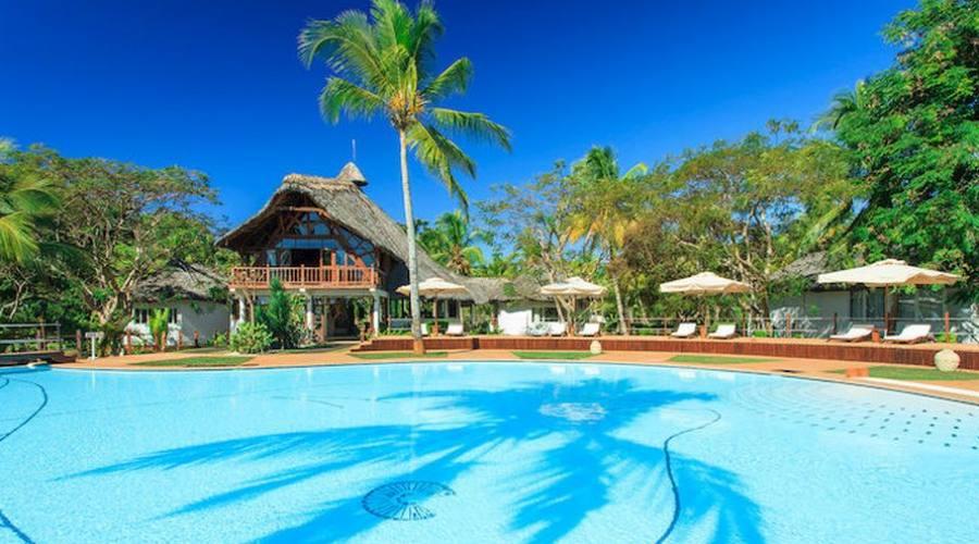 La piscina del resort