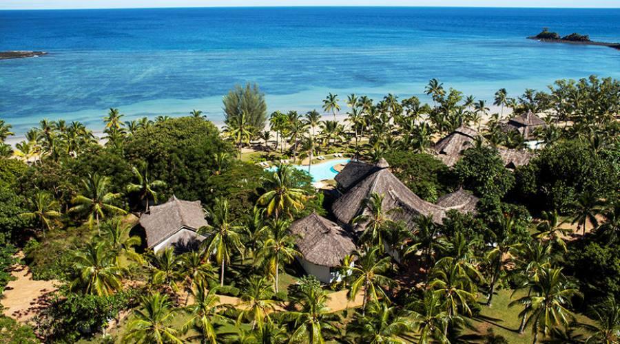 Il resort visto dall'alto