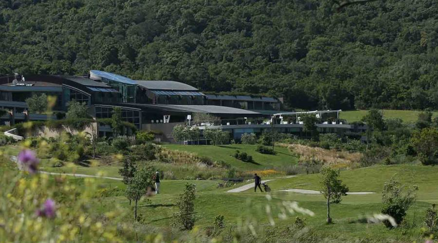 Vista del campo da Golf