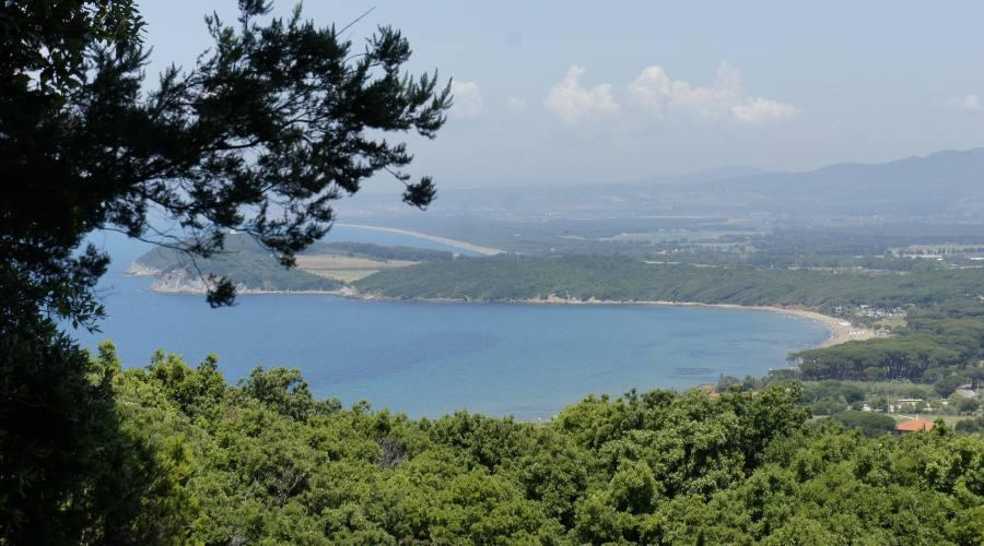 Vista sulla Maremma Toscana