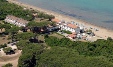 Hotel 3 stelle sul mare con spiaggia privata
