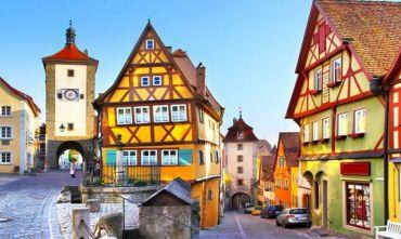 In bus sulla Strada Romantica e Castelli di Baviera