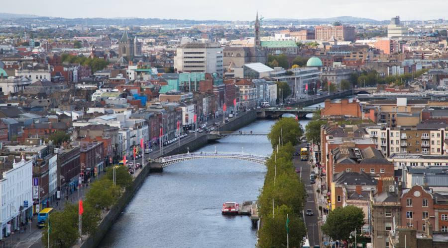 Skyline di Dublino