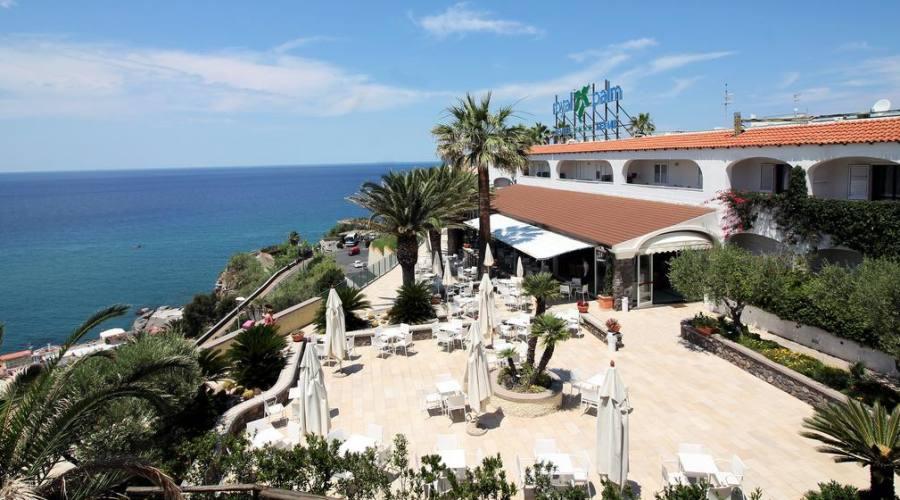 Panoramica hotel dall'alto