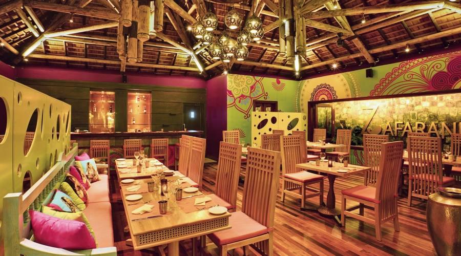 Il ristorante Zafarani