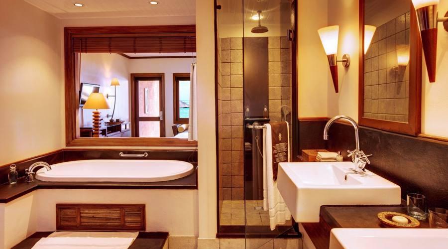 Il bagno della Deluxe Room