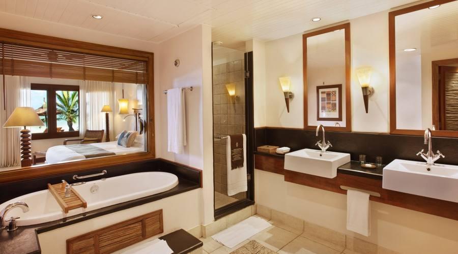 Il bagno della Senior Suite