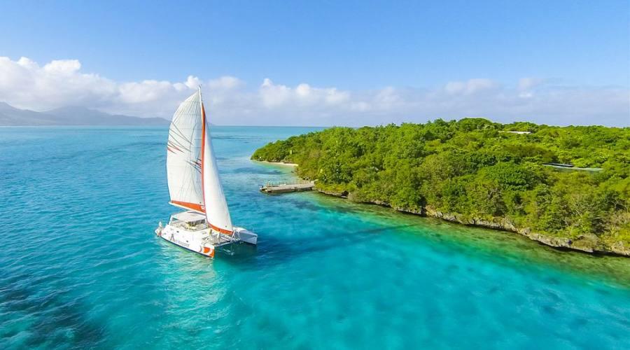 Una giornata in catamarano...