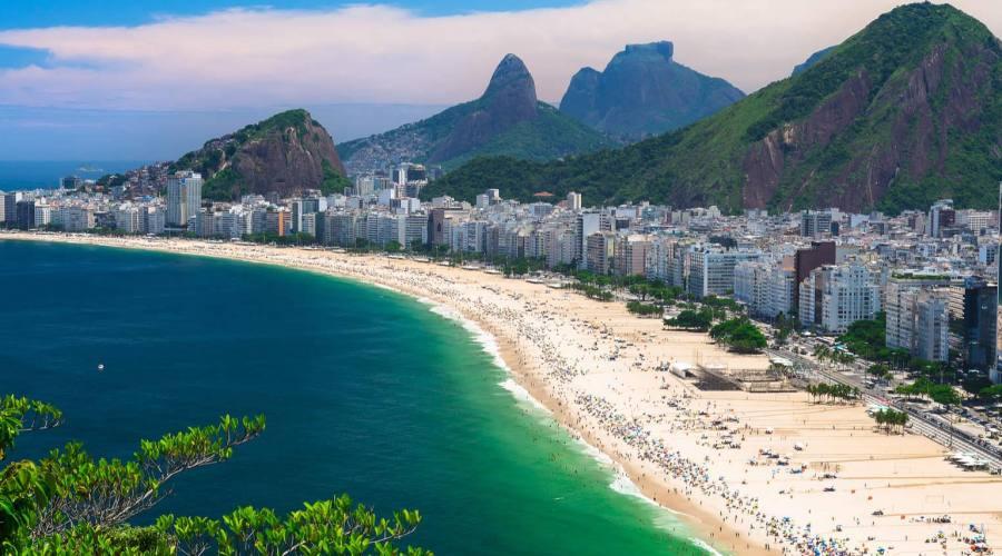 Offerta Capodanno Carioca 2017/2018: Rio, Avenida atlantica