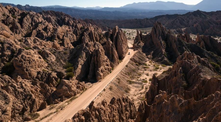 Valle de Calcaque, Quebrada de las Flechas