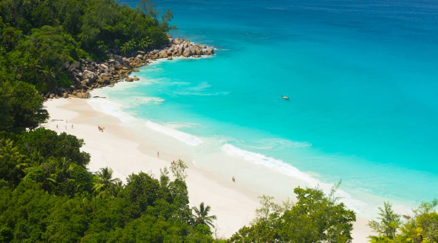 Veduta aerea Seychelles