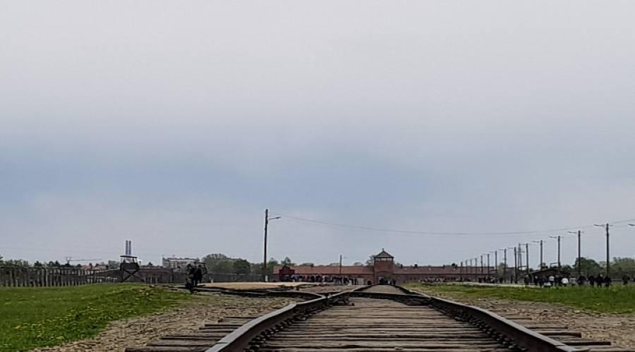 Binario a Birkenau