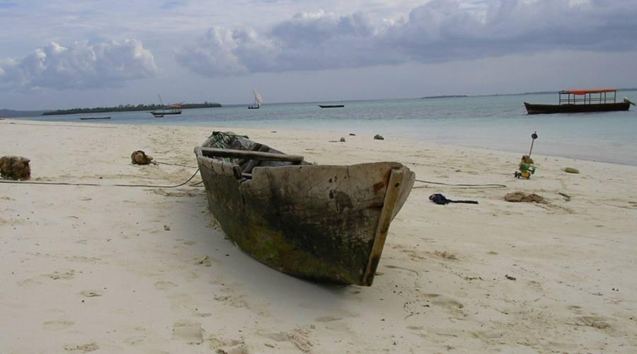 La spiaggia di Nungwi