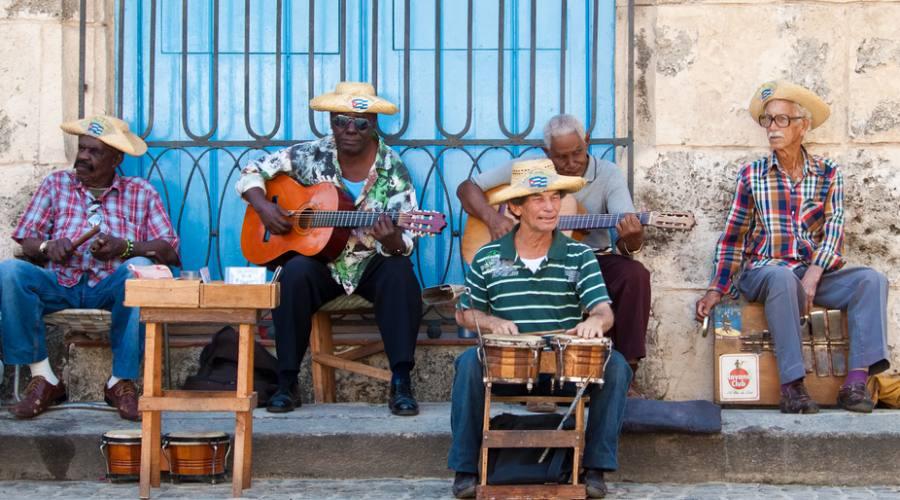 musicisti in strada