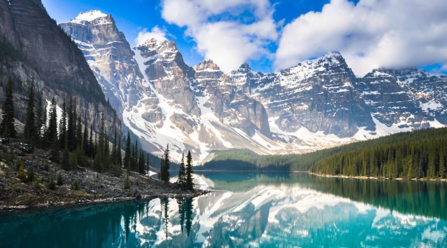 Moraine Lake, Montagne Rocciose, Alberta
