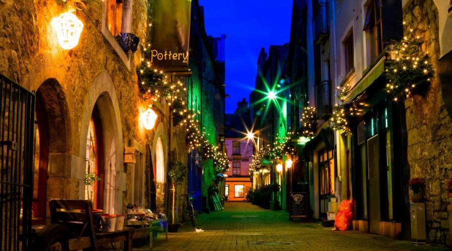 Galway vie della città vecchia
