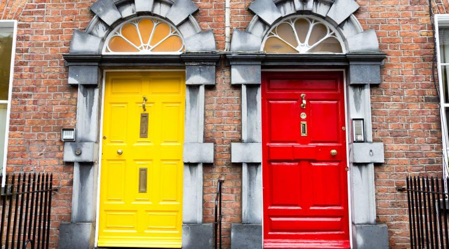 Porte georgiane a Dublino
