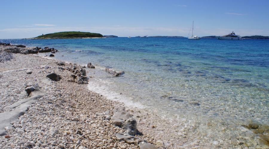 Rovinj - una delle spiaggie