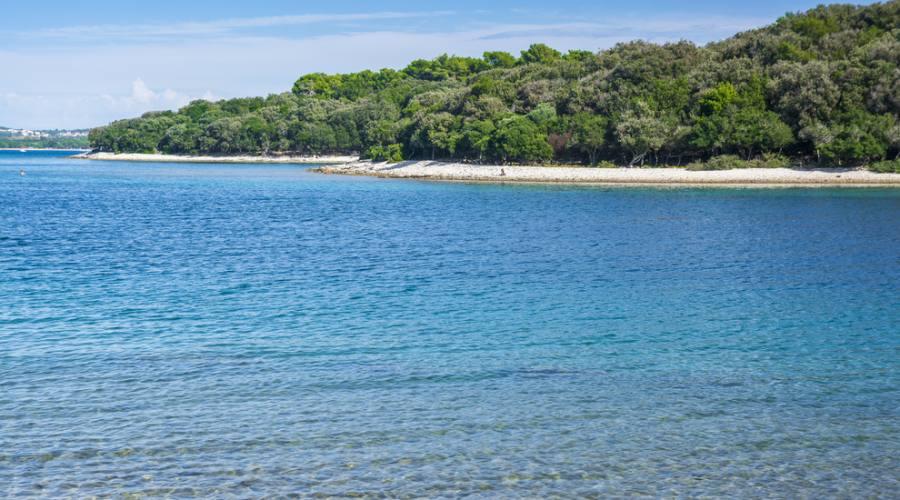 Medulin - una delle spiaggie