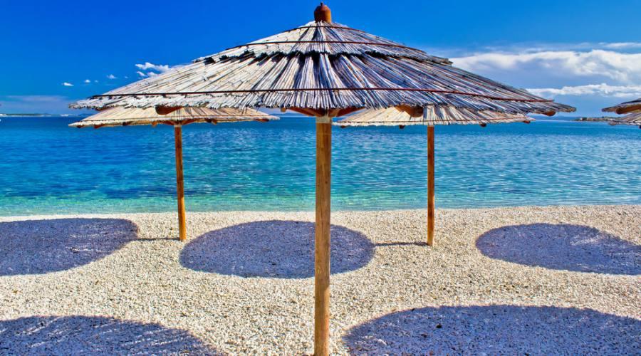 Isola di Pag - una delle spiaggie