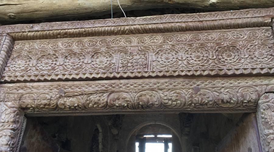 Un dettaglio della porta omanita