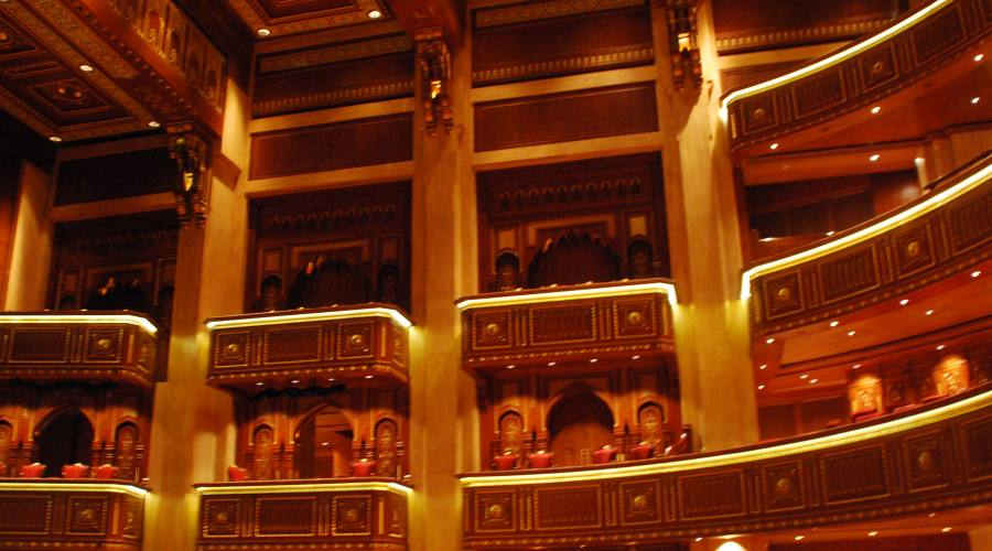 I palchi della Royal Opera House