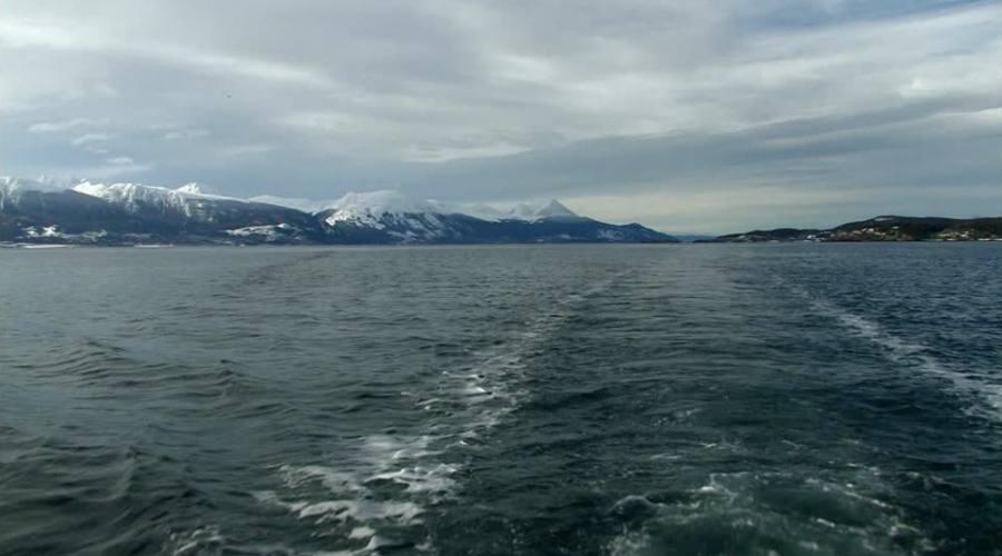 Navigazione nel Canale di Beagle