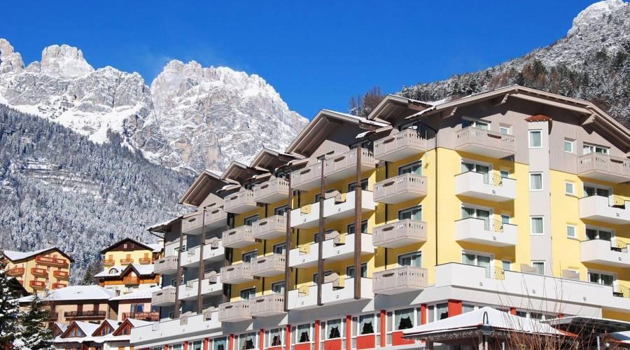 Hotel in inverno