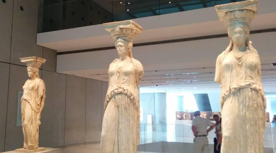 Cariatidi al Museo Archeologico di Atene