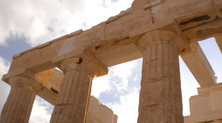 Particolare Acropoli Atene