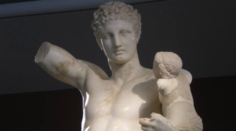 Hermes di Prassitele