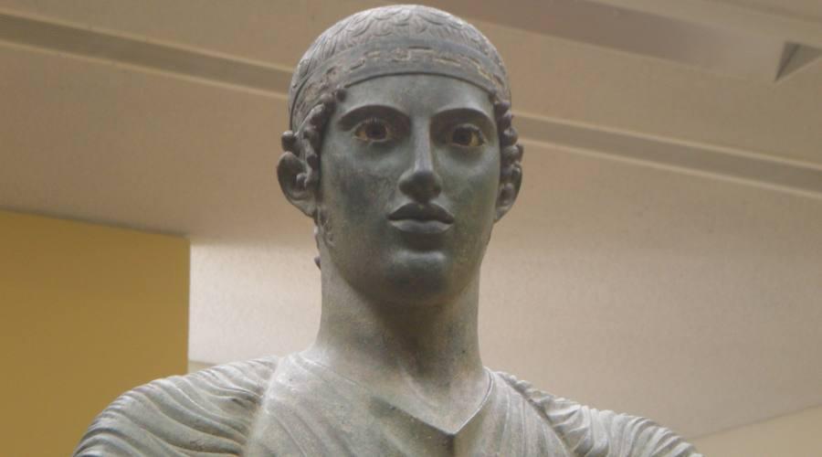 Auriga, Museo di Delphi