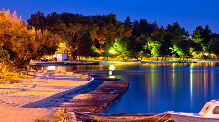 Zadar - una delle spiaggie