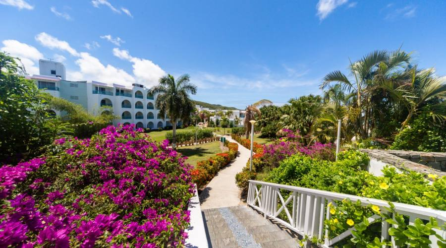 I giardini del Jolly Beach Resort