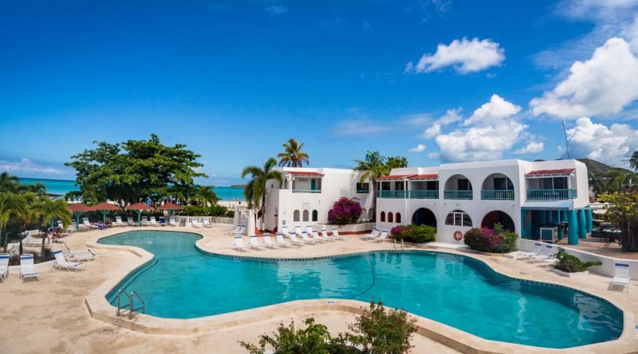 Una delle piscine del resort