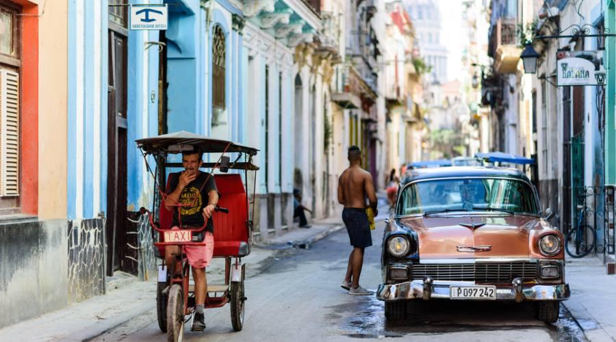 Avana, per le strade