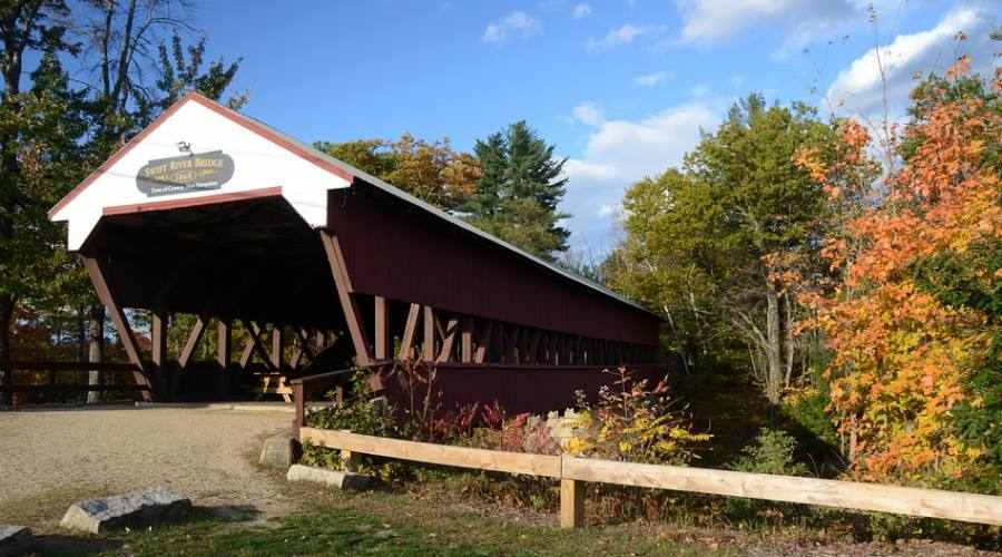 Ponte coperto New Hampshire
