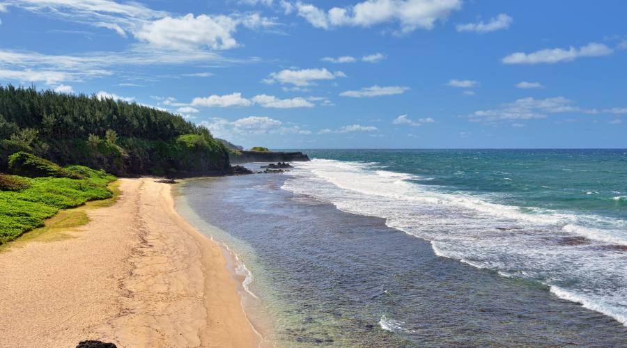 La spiaggia di Gris Gris