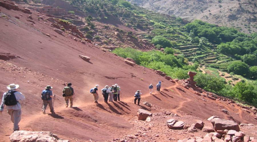 Verso un Villaggio Berbero